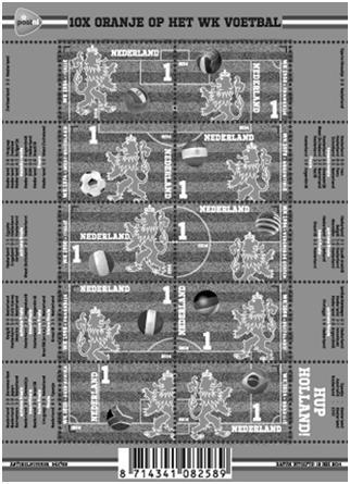 waarde kerstpostzegels 2015